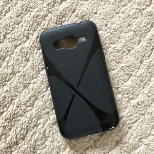 Black swirl Samsung Galaxy S III phone case